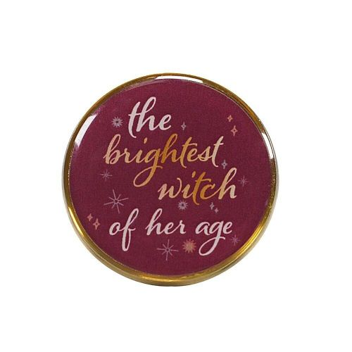 Harry Potter Hermione Granger Brightest Witch Pin Badge